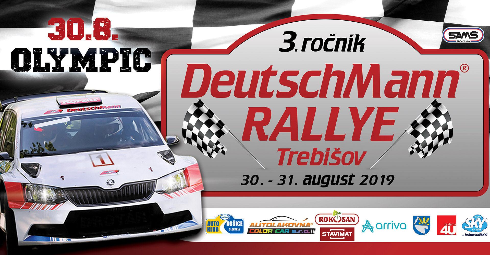 3. ročník Deutschmann rallye